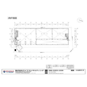 Office Warehouse in Nankohigashi - Osaka-shi Suminoe-ku Floorplan