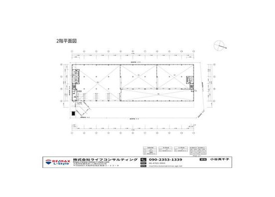 Office Warehouse to Rent in Osaka-shi Suminoe-ku Floorplan