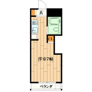 1R Mansion in Himurodai - Hirakata-shi Floorplan