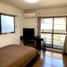 在澀谷區內租賃1K 公寓大廈 的房產 臥室