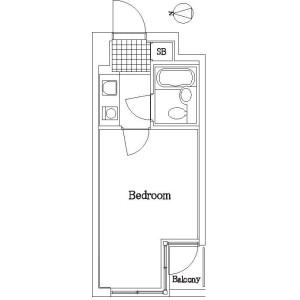 1K Apartment in Senzoku - Taito-ku Floorplan