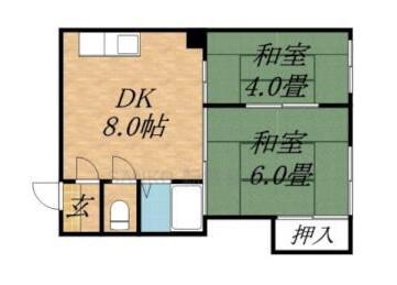 一棟 アパート 札幌市東区 間取り