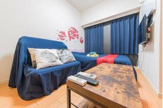1SK Apartment to Rent in Shinjuku-ku Living Room
