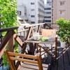 1R マンション 千代田区 バルコニー・ベランダ