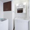 1K Apartment to Rent in Fukuoka-shi Hakata-ku Washroom