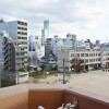 1R Apartment to Rent in Osaka-shi Naniwa-ku Balcony / Veranda