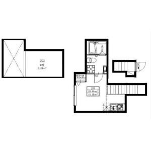 1R Mansion in Komaba - Meguro-ku Floorplan