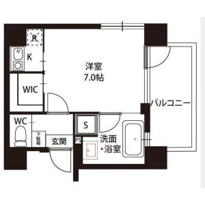 1K Apartment in Shimmachi - Setagaya-ku Floorplan