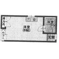 1K Mansion in Tenjimbashi(7.8-chome) - Osaka-shi Kita-ku Floorplan