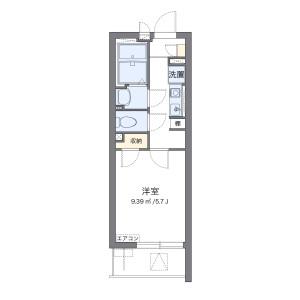 1K Mansion in Higashiyotsugi - Katsushika-ku Floorplan