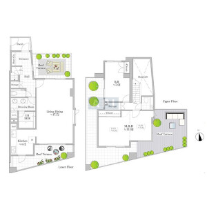 3LDK {building type} in Ebisunishi - Shibuya-ku Floorplan