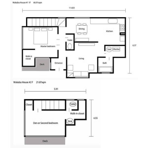 2LDK Apartment in Wakaba - Shinjuku-ku Floorplan