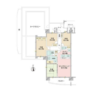 4LDK {building type} in Shinonome - Koto-ku Floorplan