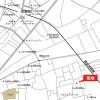 3LDK Terrace house to Rent in Higashikurume-shi Access Map