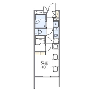 1K Mansion in Maenocho - Itabashi-ku Floorplan
