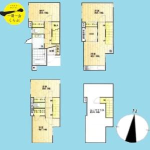 3SLDK {building type} in Miharadai - Nerima-ku Floorplan