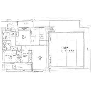 3LDK {building type} in Shugakuin kanoshitacho - Kyoto-shi Sakyo-ku Floorplan