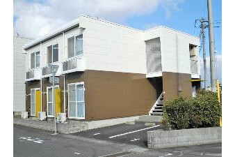 1K Apartment to Rent in Naka-shi Exterior