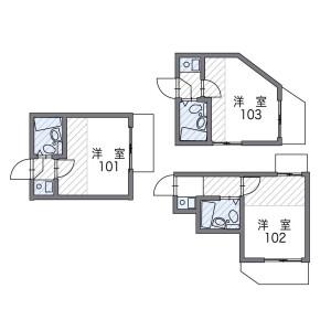 1K Apartment in Osaki - Shinagawa-ku Floorplan