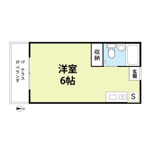 1R Apartment in Shinkashiwa - Kashiwa-shi Floorplan