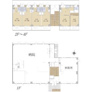 名古屋市西區浮野町-整棟{building type} 房間格局