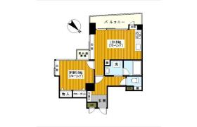 1LDK Apartment in Sengencho - Yokohama-shi Nishi-ku