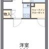 1K Apartment to Rent in Hiratsuka-shi Floorplan