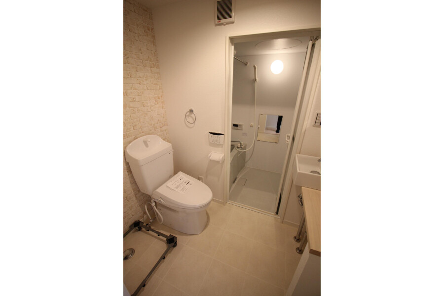 1K Apartment to Rent in Kawasaki-shi Tama-ku Toilet