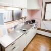 在新宿區內租賃共有 / 合租 合租公寓 的房產 廚房