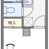 1K Apartment to Rent in Osaka-shi Yodogawa-ku Floorplan