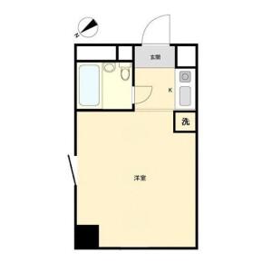1R Mansion in Itabashi - Itabashi-ku Floorplan