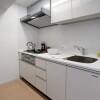 在新宿區內租賃2LDK 公寓大廈 的房產 廚房