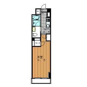 1K Apartment in Ebisunishi - Shibuya-ku Floorplan
