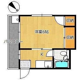 1K Mansion in Koenjiminami - Suginami-ku Floorplan