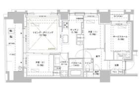 2SLDK Mansion in Minamiyamabushicho - Shinjuku-ku