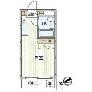 1R Mansion in Daita - Setagaya-ku Floorplan