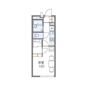 1K Apartment in Shakujiidai - Nerima-ku Floorplan