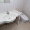1DK Apartment to Rent in Chuo-ku Washroom
