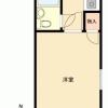 1K Apartment to Buy in Kiyose-shi Floorplan