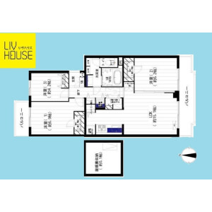 4LDK {building type} in Hikarigaoka - Nerima-ku Floorplan