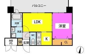 1LDK Apartment in Minato - Fukuoka-shi Chuo-ku