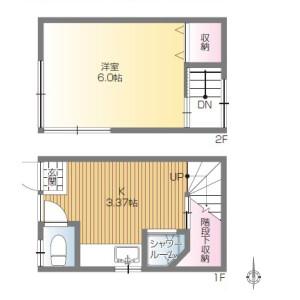 1K {building type} in Wada - Suginami-ku Floorplan