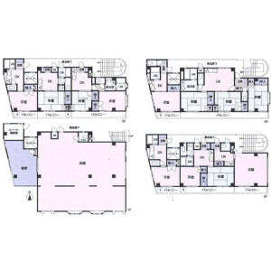 Whole Building Apartment in Higashinippori - Arakawa-ku Floorplan