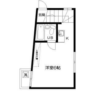 1R Apartment in Okubo - Shinjuku-ku Floorplan
