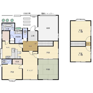 5LDK House in Kitasui - Maizuru-shi Floorplan