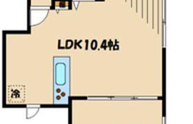 1LDK Apartment in Nagao - Kawasaki-shi Tama-ku
