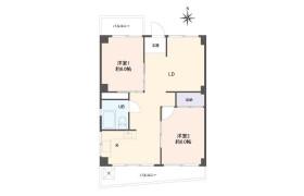 2LDK Apartment in Konancho - Kobe-shi Higashinada-ku