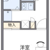1K Apartment to Rent in Nagoya-shi Moriyama-ku Floorplan