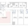 3LDK Apartment to Rent in Shinjuku-ku Floorplan