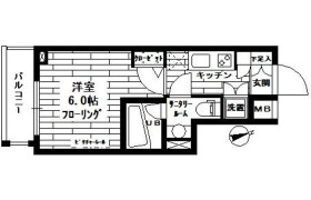 1K Apartment in Omorinishi - Ota-ku